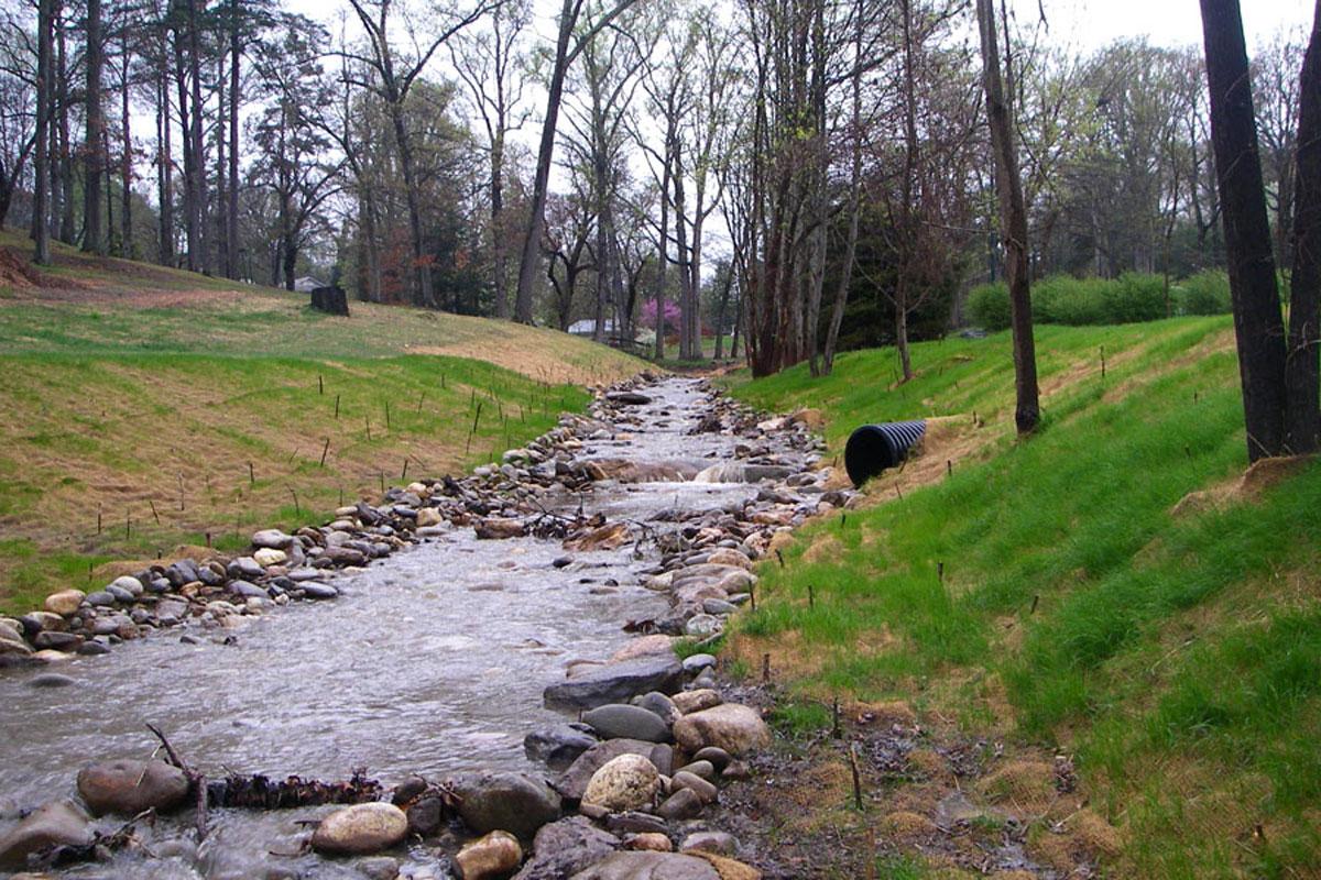 Buttermilk Creek post construction