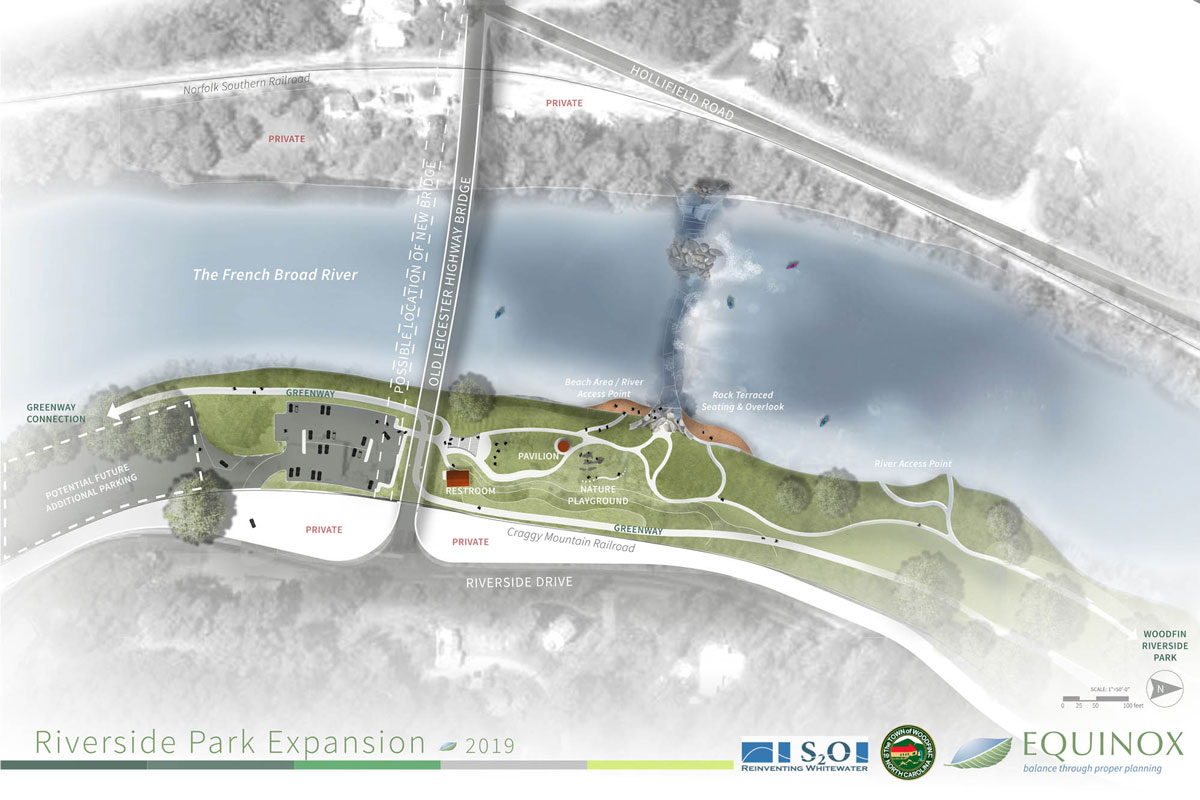 Plan for Riverside Park expansion