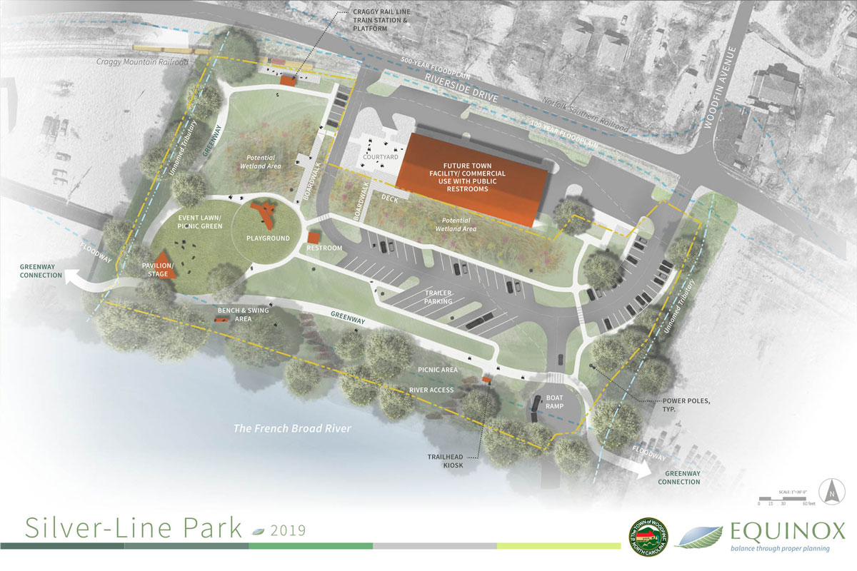 Plan for new park along Woodfin Greenway