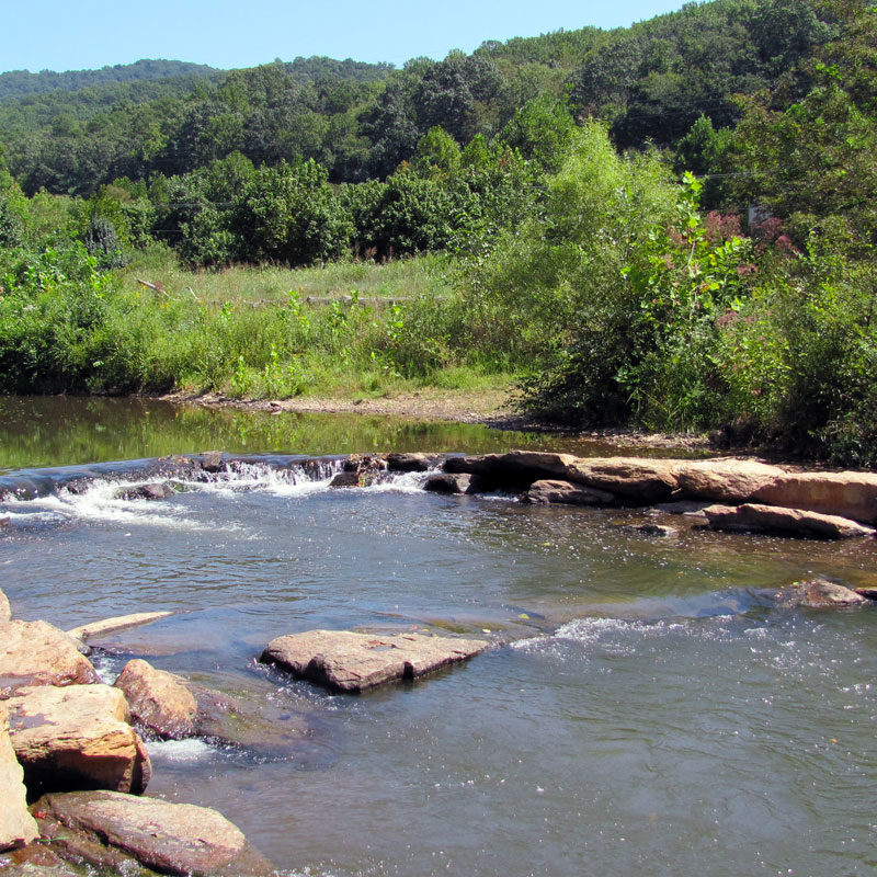 Swannanoa River at Azalea Park
