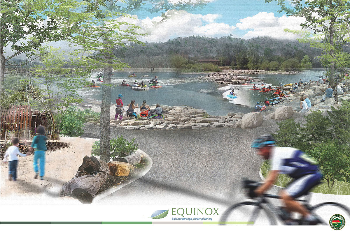 The future of the Woodfin Greenway and Blueway