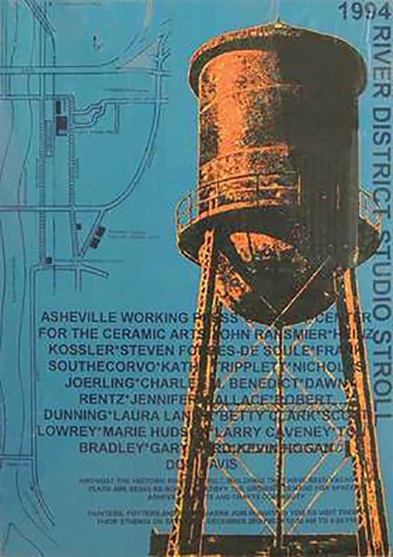 Water Tower Print